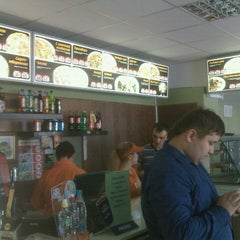 Photo taken at Кафе Pizza Rio by Tatyana M. on 11/12/2011