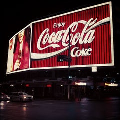 Photo taken at The Coca-Cola Billboard by Brad H. on 1/25/2012