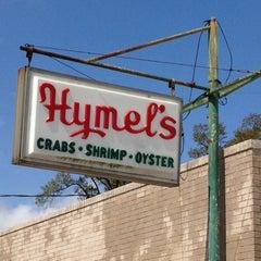Photo taken at Hymel's Seafood Restaurant by Scott & Heather P. on 3/14/2012