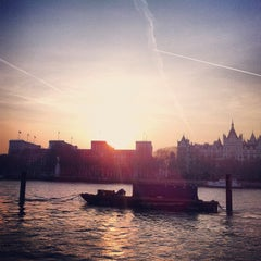 Photo taken at South Bank by Bogdan S. on 3/24/2012
