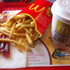 Photo taken at McDonald's by Marina I. on 5/17/2012