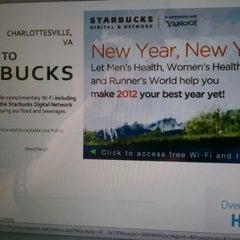 Photo taken at Starbucks by Chris F. on 1/10/2012