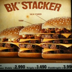 Photo taken at Burger King by Luis Mauricio F. on 5/1/2011