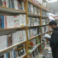 Photo taken at Gramedia by Henkhei h. on 1/1/2012