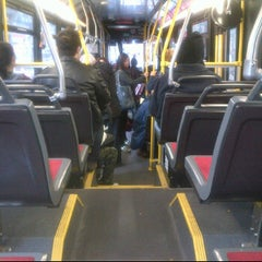 Photo taken at TTC Bus #6 Bay by Eni O. on 10/20/2011