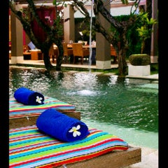Photo taken at Di Astana Villa Bali by Wahyu M. on 1/29/2012