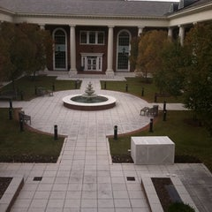 Photo taken at EHFA Courtyard by Kyle C. on 10/31/2011