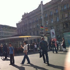 Photo taken at Paradeplatz by Jens A. on 8/11/2011
