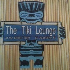 Photo taken at the tiki lounge at abott tract by Lindsey M. on 6/9/2012