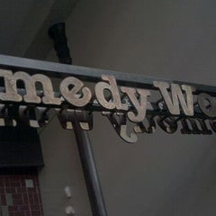 Photo taken at Comedy Works Downtown in Larimer Square by Patrick B. on 1/15/2012