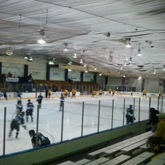 Photo taken at Nelson Center Ice Rink #1 by Steve T. on 9/30/2011