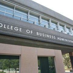 Photo taken at College of Business (BSN) by University of South Florida on 9/29/2011
