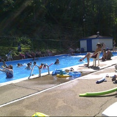 Photo taken at Charter Oak Pool by Colin T. on 6/5/2011