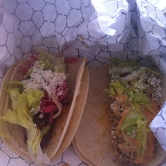Photo taken at Mexicue Taco Truck by Amber B. on 8/18/2011