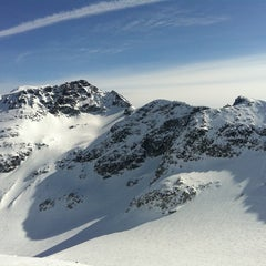 Photo taken at Blackcomb Glacier by Alex M. on 4/8/2011