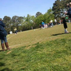 Photo taken at Lake Taylor Soccer Field by Wesley J. on 4/14/2012