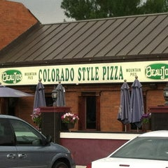 Photo taken at Beau Jo's Pizza by Zach S. on 6/27/2012