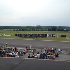Photo taken at Vernon Downs Harness Track by Tom A. on 7/4/2012