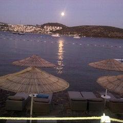 Photo taken at Doria Beach by Ender Y. on 8/31/2012