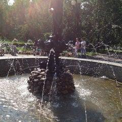 Photo taken at Розарий с Фонтаном by Виктория С. on 7/28/2012