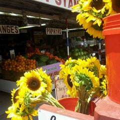 Photo taken at Robert Is Here Fruit Stand & Farm by Vera B. on 5/4/2012