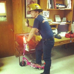 Photo taken at Fire Station 4 by Clayton M. on 6/16/2012