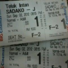 Photo taken at BIG Cinemas by Kelvin K. on 9/2/2012