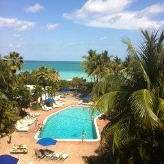 Photo taken at Four Points by Sheraton Miami Beach by Stuart M. on 3/29/2012