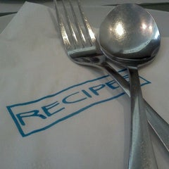 Photo taken at Recipes by Café Metro by Chris M. on 6/24/2012