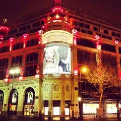 Photo taken at Printemps Haussmann by Renke Y. on 4/11/2012