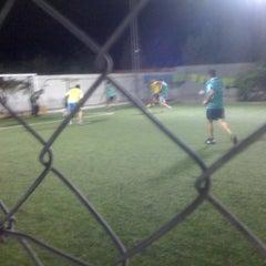 Photo taken at Bachaga stadium by Farid H. on 8/16/2012