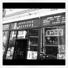Photo taken at Reckless Records by Wicker Park Bucktown Insider on 4/21/2012