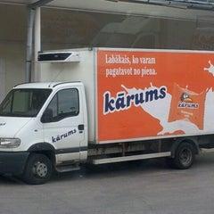 Photo taken at Rigas Piensaimnieks by Sergey S. on 8/1/2012