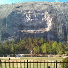 Photo taken at Stone Mountain Park by Tom C. on 3/30/2012