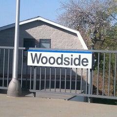 Photo taken at LIRR - Woodside Station by Joe M. on 4/13/2012