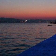 Photo taken at Değirmendere Sahil by Özgür U. on 8/15/2012