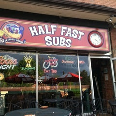 Photo taken at Half Fast Subs by Julie B. on 5/24/2011