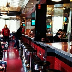 Photo taken at Salt & Pepper Diner by Mark H. on 9/2/2012