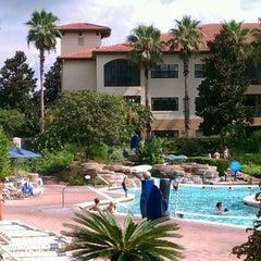 Photo taken at Splash Lagoon (North Village at Orange Lake Resort) by Twins+2 Mom on 8/16/2011