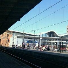 Photo taken at Station Sittard by Harry V. on 3/19/2011