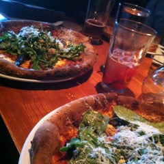 Photo taken at Fireside Pies by Ashley R. on 6/23/2012