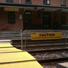 Photo taken at SEPTA Moylan-Rose Valley Station by Matthew P. on 7/15/2012