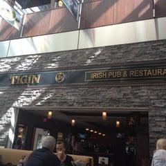 Photo taken at Tigín Irish Pub & Restaurant by John D. on 4/17/2012