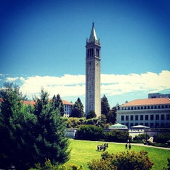 Photo taken at Campanile (Sather Tower) by Michael S. on 8/19/2012