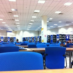 Photo taken at Siti Hasmah Digital Library by Joe L. on 5/8/2011