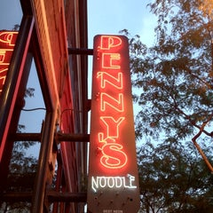Photo taken at Penny's Noodle Shop by Andrew C. on 8/26/2012