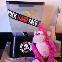 Photo taken at Rock Hard Taco by Sara S. on 7/30/2011