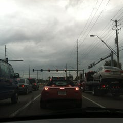 Photo taken at Tampa Rd & Forest Lakes Blvd by Laura F. on 1/18/2012