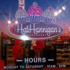 Photo taken at HaliHannigan's Cupcakery by Kayla O. on 1/6/2011