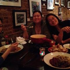 Photo taken at Swizz Restaurant & Wine Bar by Raymond L. on 4/13/2012
